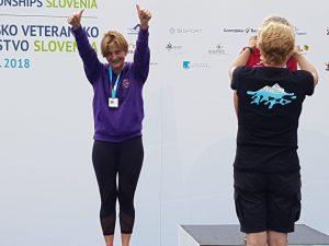 Daniela Petracchi sul podio
